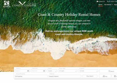 Coast & Country Holidays Listings